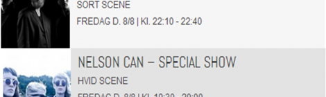 SPECIAL SHOWS MED NELSON CAN OG GET YOUR GUN PÅ UHØRT!