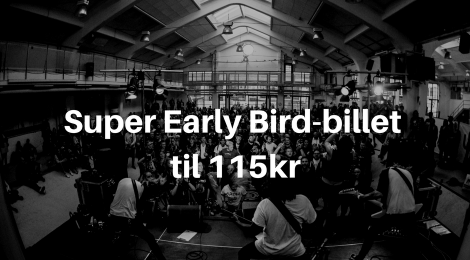 Super Early Bird slutter i morgen